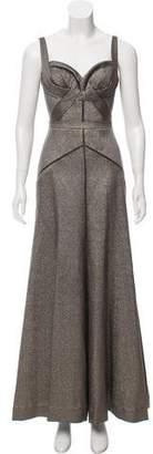 J. Mendel Wool-Blend Dress