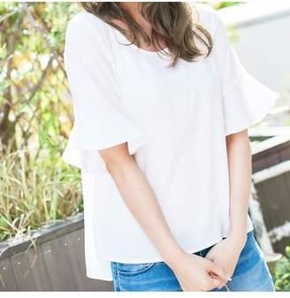 Kobe Lettuce (神戸レタス) - 【20%OFF】神戸レタス[ゆるてろ]選べるブラウスレディースオフホワイトFl【KOBE LETTUCE】【タイムセール開催中】
