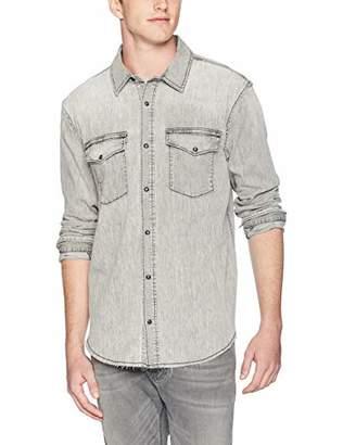 Hudson Men's Denim Long Sleeve Shirt