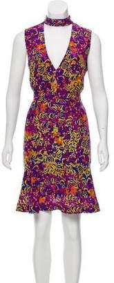 Saloni Sleeveless Silk Dress w/ Tags