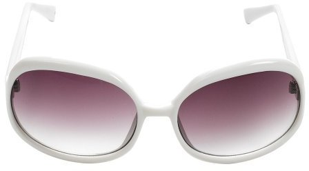 Isaac Mizrahi for Target® Vintage Round Sunglasses - White