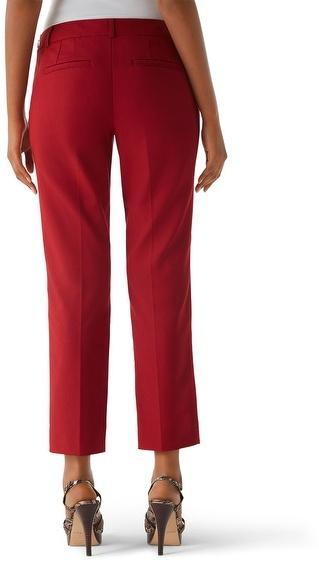 White House Black Market Perfect Form Auburn Crop Pant