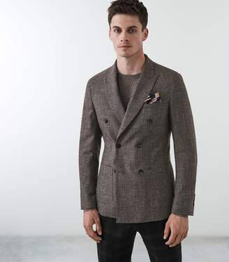 Reiss Bostrus Double Breasted Blazer