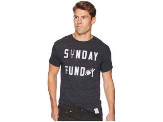 Original Retro Brand The Sunday Funday Vintage Tri-Blend Short Sleeve T-Shirt