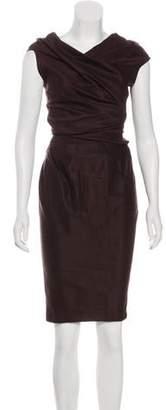 Donna Karan Knit Knee-Length Dress