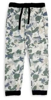 Little Boy's Camouflage Cotton Jogger Pants