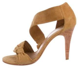Ulla Johnson Suede Knot Sandals