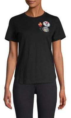 Maje Tess Patch T-Shirt