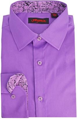 Men's Jerry Garcia Modern-Fit Dress Shirt
