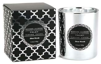 D.L. & Co. Alchemy by Electroplated Silver Sandalwood Candle