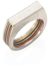 Maison Margiela Chain Tri-Tone Ring
