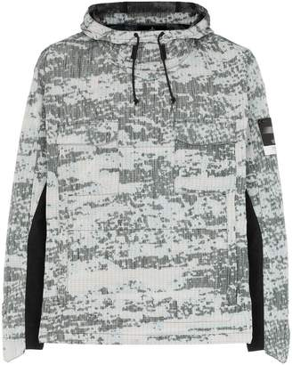 Stone Island Shadow Project printed hooded jacket