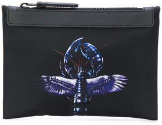Lanvin winged lobster detail clutch bag