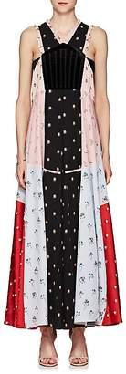 Valentino Women's Floral Velvet & Silk Maxi Dress