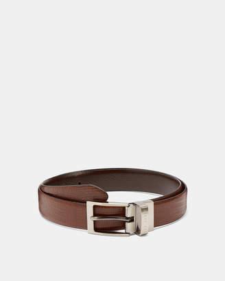 Ted Baker JOSEF Lizard reversible leather belt