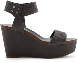 Vince Camuto Valamie Perforated Platform Wedge Sandal