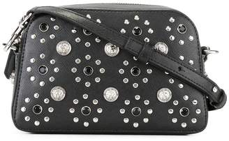 Versus flower studded crossbody bag