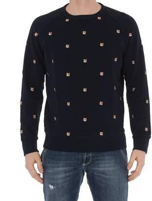 MAISON KITSUNÉ Sweatshirt All Over Fox