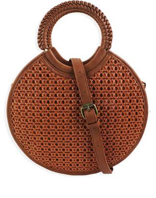 Circle Woven Detail Bag