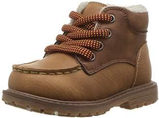 Osh Kosh Boys' Crowes Lace up Sherpa Fashion Boot