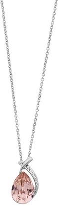 Brilliance+ Brilliance Teardrop Pendant Necklace with Swarovski Crystal
