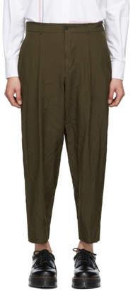 Comme des Garcons Homme Deux Homme Deux Khaki Oxford Trousers