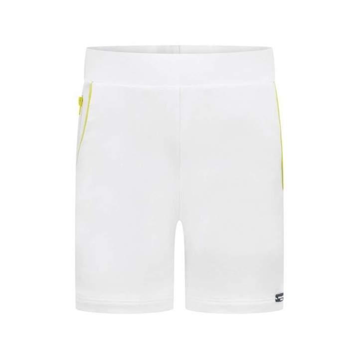Aston MartinBoys White Jersey Shorts