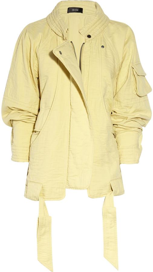 Isabel Marant Esso cotton jacket
