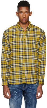 DSQUARED2 Yellow Relax Dan Shirt