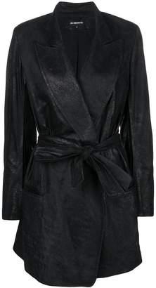 Ann Demeulemeester belted coat