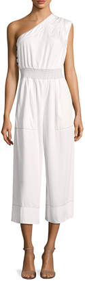 Tracy Reese One Shoulder Jumpsuit