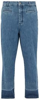 Loewe Fisherman Mid Rise Straight Leg Jeans - Mens - Blue