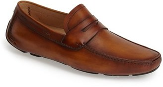 Men's Magnanni 'Dylan' Leather Driving Shoe $295 thestylecure.com