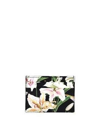 Dolce & Gabbana Lilium Printed Card Case