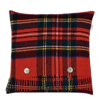 Red Royal Stewart Cushion Cover and Scarf
