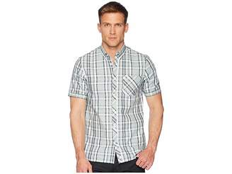 Fred Perry Bold Check Short Sleeve Shirt Men's Clothing
