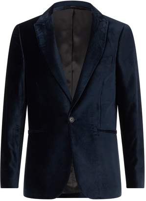 Paul Smith Velvet Peak Lapel Jacket