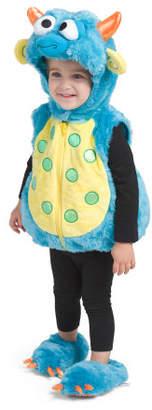 Baby Little Monster Plush Bubble Costume