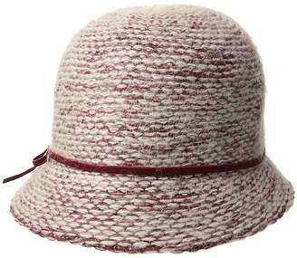 Scala Knit Cloche Caps