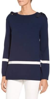 St. John Jersey Knit Sweater