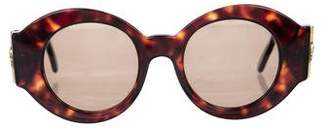 Versace Vintage Round Sunglasses
