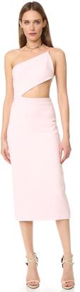 Cushnie Et Ochs Asymmetrical Bodice Dress $1,395 thestylecure.com