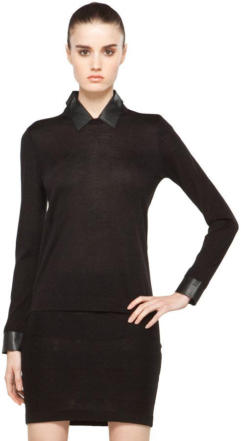 Rag and Bone rag & bone Baxter Sweater in Black