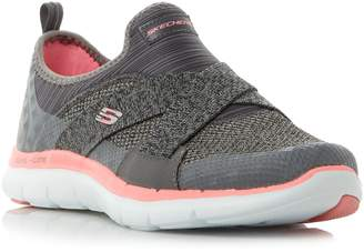 Skechers Flex appeal 2.0 cross strap gore slip