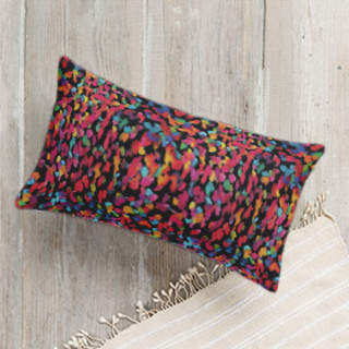 Colorful marks Self-Launch Lumbar Pillows