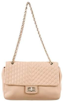 Karl Lagerfeld Quilted Leather Shoulder Bag