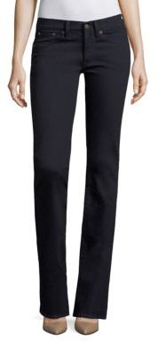 Polo Ralph Lauren Skinny Bootcut Jeans $198 thestylecure.com