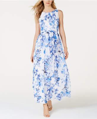 6ef6d89f1611 Jessica Howard Floral-Print Maxi Dress