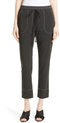 Women's Tracy Reese Stripe Pull-On Pants $278 thestylecure.com