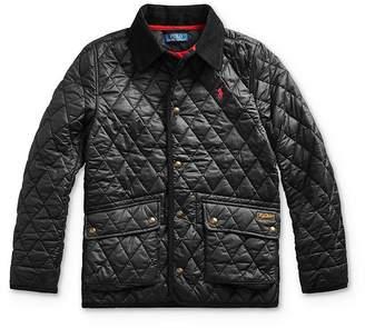 Ralph Lauren Boys' Diamond Quilted Coat - Big Kid